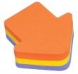 3M POSTIT jegyzettömb, öntapadós, 225 lapos, nyíl alakú, POST-IT, 3 szín