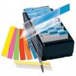 3L jelölőcímke, 12x40 mm, 4x12 lapos, műanyag, vegyes