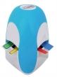 3M POSTIT jelölőcímke adagoló, feltöltve, Tridex, kék