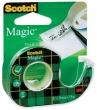 3M SCOTCH ragasztószalag, 19 mm x 7,5 m, Magic Tape, utántölthető adagolón, írható, invisible