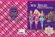 UNIPAP füzet, A5, 32 lapos, Barbie glitter, kockás