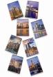 PIGNA füzet, A5, 32 lapos, Sunset and the city, kockás