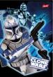 UNIPAP füzet, A5, 32 lapos, 1. osztály, Clone Wars, vonalas