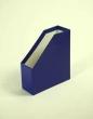PD iratpapucs, 70 mm, karton, merevfalú, fóliázott, kék