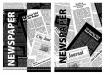 UNIPAP spirálfüzet, A4, 80 lapos, karton borítós, Újságpapír, sima