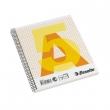 ESSELTE spirálfüzet, A5, 70 lapos, karton borítós, kockás