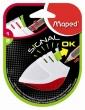 MAPED hegyező, egylyukú, műanyag, Stop Signal, élességjelző, szín 1