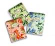PIGNA spirálfüzet, A6, 50 lapos, karton borítós, Nature Flowers, vegyes, kockás