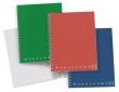 PIGNA spirálfüzet, A6, 70 lapos, karton borítós, Monocromo, kockás