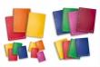 PIGNA spirálfüzet, A6, 80 lapos, műanyag borítós, Monocromo PPL, kockás