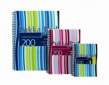 PUKKA PAD spirálfüzet, A6, 100 lapos, műanyag borítós, Jotta, vonalas