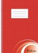 VICTORIA spirálfüzet, A4, 70 lapos, kockás