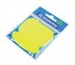 DONAU jegyzettömb, öntapadós, 50 lapos, telefon alakú, sárga