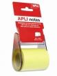 APLI öntapadó jegyzetpapír, 60 mm x10 m, tekercsben