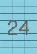 APLI etikett, A4, 70x37 mm, 3 pályás, pasztell kék