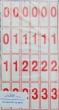 szám és jelkártya, II-IV. o.