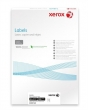 XEROX etikett, A4, 63,5x38,1 mm, 3 pályás, univerzális, kerekített sarkú