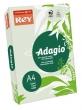 REY másolópapír, színes, A4, 80 g, Adagio, pasztell zöld