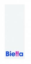 BIELLA cserecímke, iratrendezőhöz, 27x74 mm, 2 oldalas, fehér