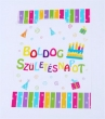 dísztasak, 18x25 cm, Boldog születésnapot, PP