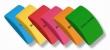 KOH-I-NOOR radír, 47x28x152 mm, plasztik, íves