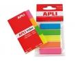APLI jelölőcímke, 12x45 mm, 5x25 lapos, standard