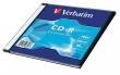 VERBATIM CD-R, 700 MB, 80 min, 52x, vékony tokban (DataLife)