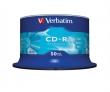 VERBATIM CD-R, 700 MB, 80 min, 52x, hengeren (DataLife)