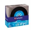 VERBATIM CD-R, 700 MB, 80 min, 48x, vékony tokban LP design