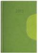 DAYLINER határidőnaptár, B5, heti, Memphis, zöld
