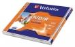 VERBATIM DVD-R, 4,7 GB, 16x, normál tokban, nyomtatható