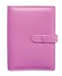SATURNUS kalendárium, gyűrűs, betétlapokkal, S235, puha műbőr, rózsaszín