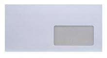 EURO boríték, LA4 (110x220 mm), öntapadós, jobb ablakos