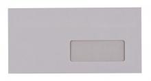 VICTORIA boríték, LA4 (110x220 mm), öntapadós, jobb ablakos, környezetbarát