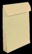 VICTORIA tasak, TC4 (229x324 mm), 50 mm, redős talpas, szilikonos, barna gascofil