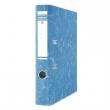 DONAU iratrendező, A4, 50 mm, karton, élvédő sínnel, Eco, kék