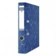 DONAU iratrendező, A4, 50 mm, karton, élvédő sínnel, Eco, sötétkék