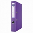 DONAU iratrendező, A4, 50 mm, PP, élvédő sínnel, Premium, lila