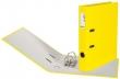 BIELLA iratrendező, A4, 50 mm, PP, Plasticolor, sárga