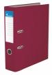VICTORIA iratrendező, A4, 75 mm, PP/karton, bordó
