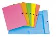 ERICH KRAUSE irattartó mappa, A4, PP, 8 mm, patentos, neon színek