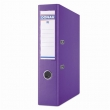 DONAU iratrendező, A4, 75 mm, PP, élvédő sínnel, Premium, lila