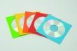 FELLOWES boríték, CD/DVD, papír, ablakos, öntapadós füllel, színes