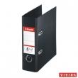 ESSELTE iratrendező, A5, 75 mm, PP/PP, élvédő sínnel, Standard, Vivida,fekete