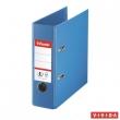 ESSELTE iratrendező, A5, 75 mm, PP/PP, élvédő sínnel, Standard, Vivida, kék
