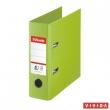 ESSELTE iratrendező, A5, 75 mm, PP/PP, élvédő sínnel, Standard, Vivida, zöld