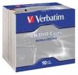VERBATIM CD tok, 1 db-os, normál, átlátszó/átlátszó (KIFUTÓ)