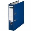 LEITZ iratrendező, A4, 80 mm, PP/karton, élvédő sínnel, 180°, kék