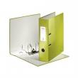 LEITZ iratrendező, A4, 80 mm, PP/PP, élvédő sínnel, lakkfényű, Wow, 180°, zöld