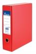VICTORIA tokos iratrendező, A4, 75 mm, karton, piros